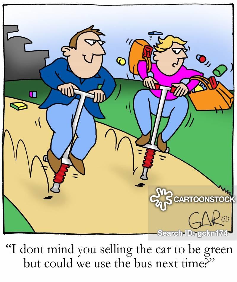 car owners cartoon