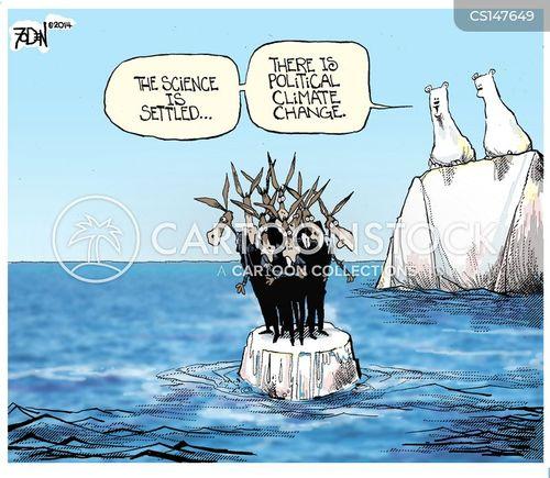 political climate cartoon