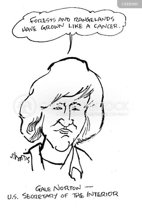 secretary of the interior cartoon