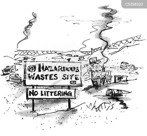 no littering cartoon