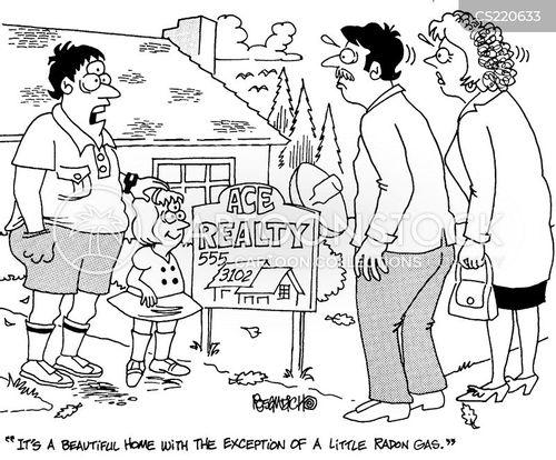 gas leak cartoon