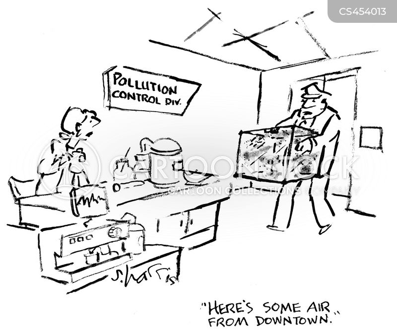 air analysis cartoon