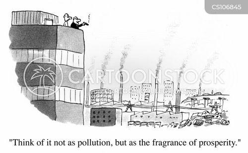 greenhouse effect cartoon