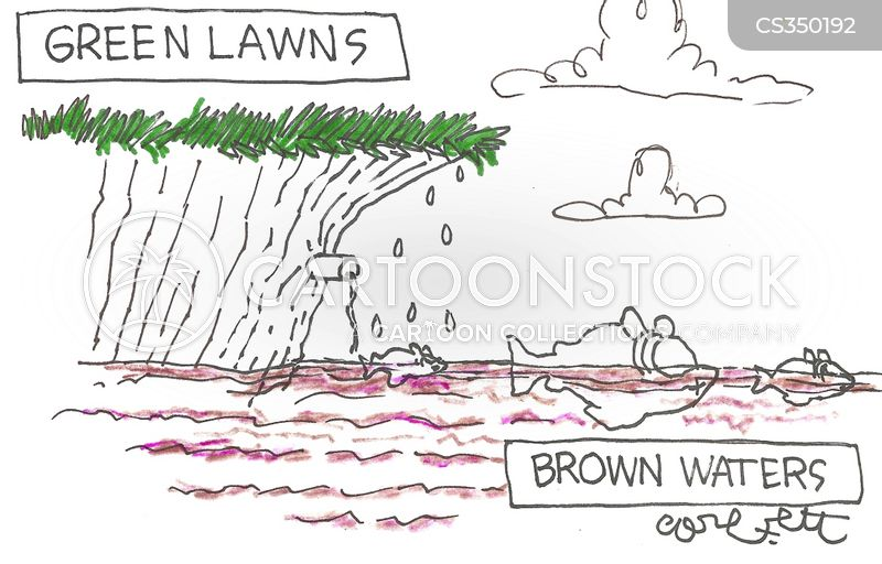 sewage systems cartoon