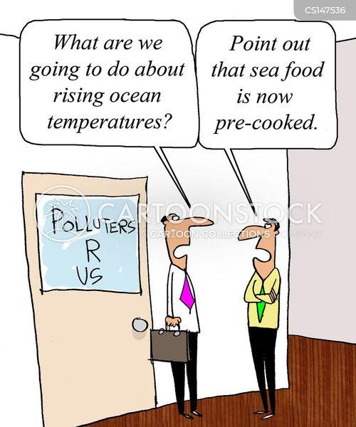 sea food cartoon