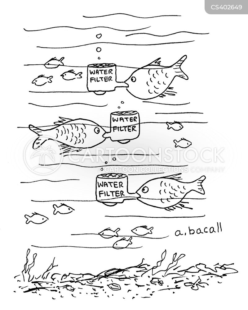 water filter cartoon