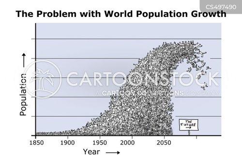 population explosions cartoon