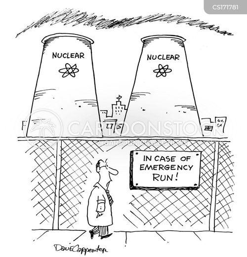power plants cartoon