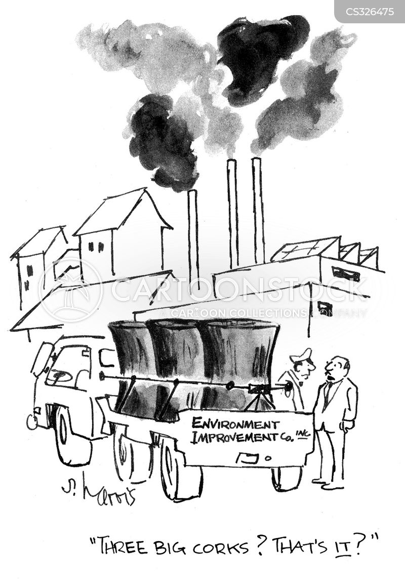 Power Plant Cartoon Power Stations Cartoon 8 of 47