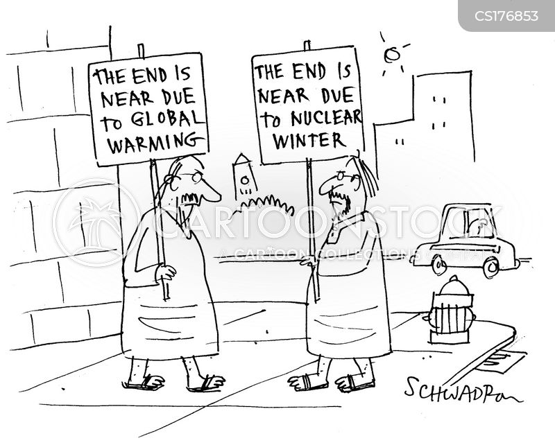 climate changes cartoon