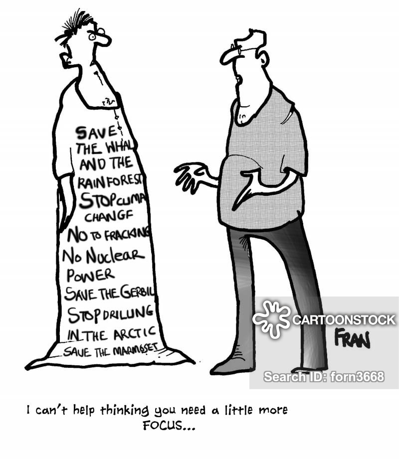 political belief cartoon