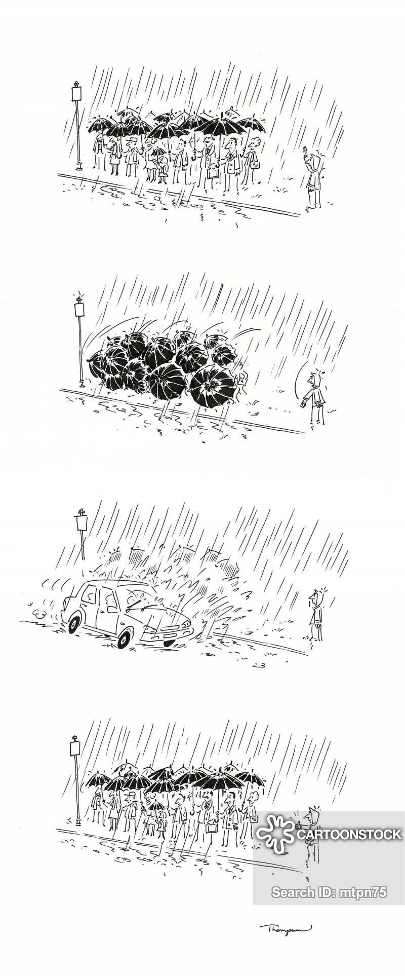 splashing cartoon