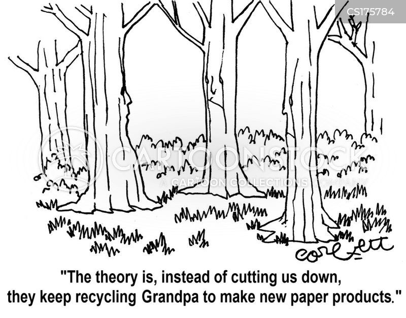 paper products cartoon