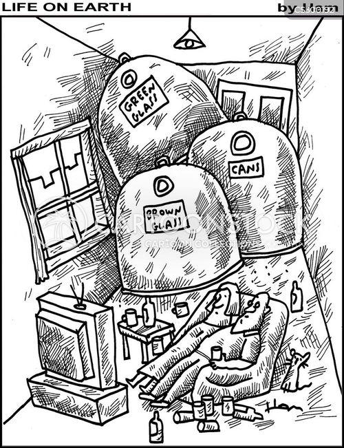 empties cartoon