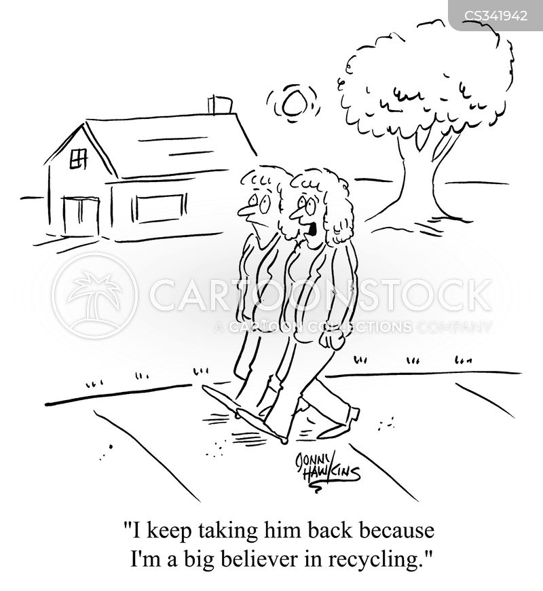 take back cartoon
