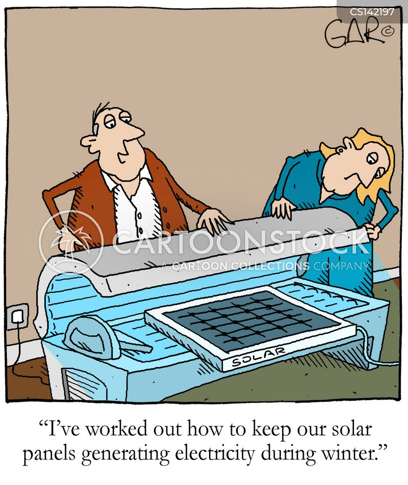Solar Power cartoons, Solar Power cartoon, funny, Solar Power picture ...