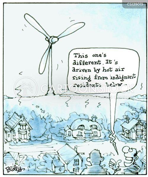 wind energies cartoon