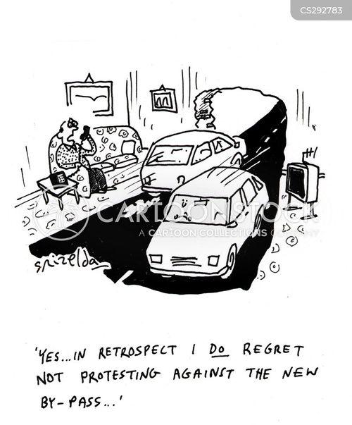 bypass cartoon