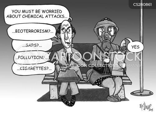 bio-terrorism cartoon
