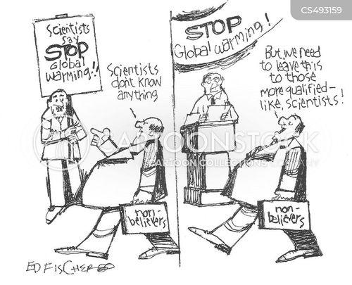 climate disaster cartoon