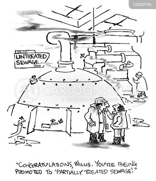 liquid waste cartoon