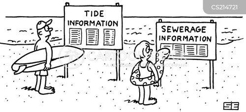 sewerage cartoon