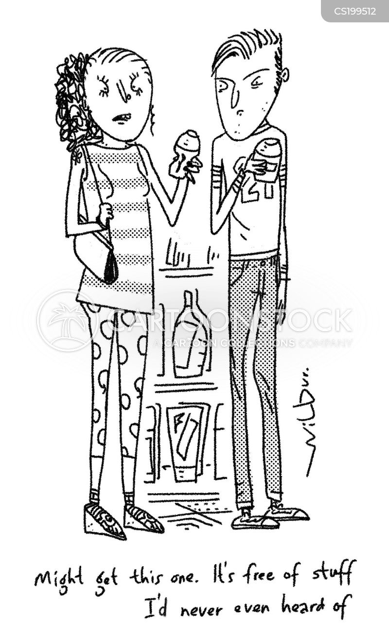 antiperspirants cartoon
