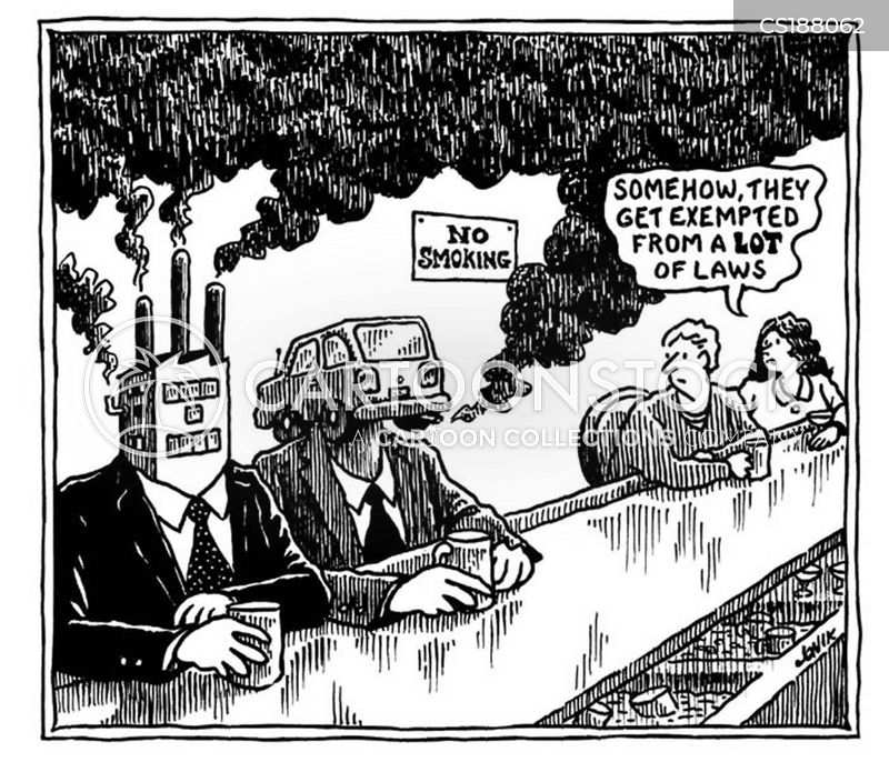 smoking bans cartoon