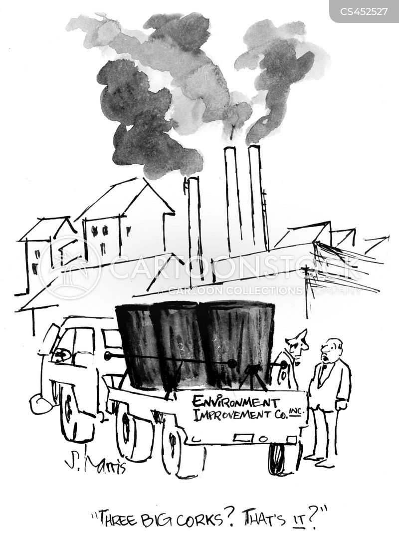 smoke stacks cartoon