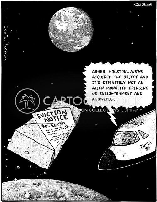 eviction notice cartoon