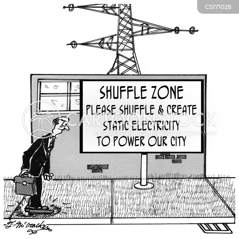 electric utility cartoon