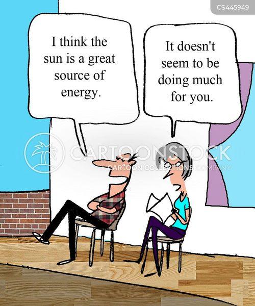 lazing cartoon