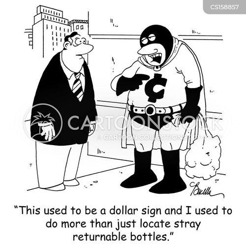 cents cartoon