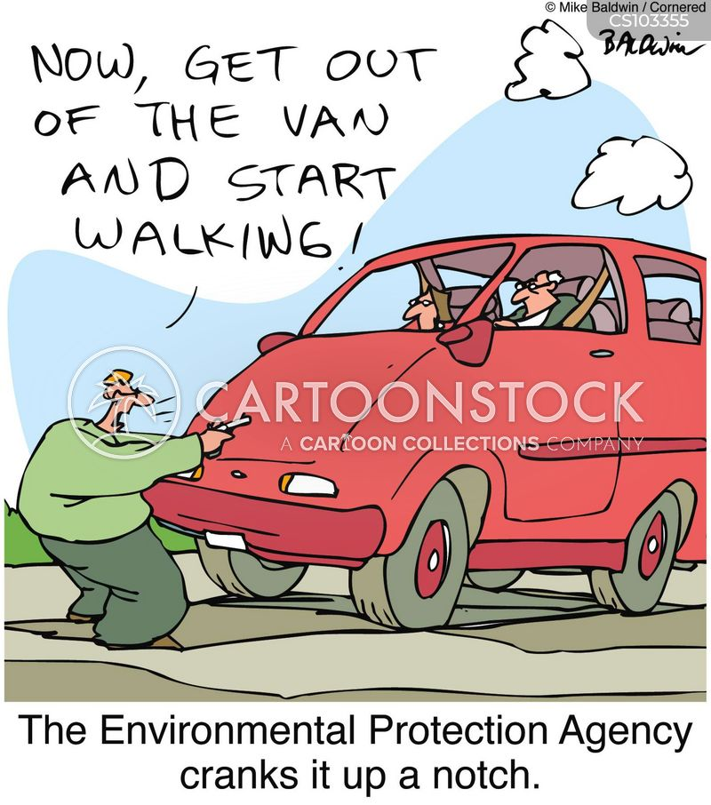 carbon footprints cartoon