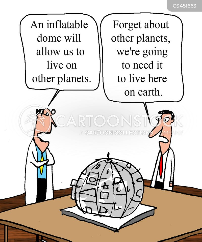 terraforming cartoon