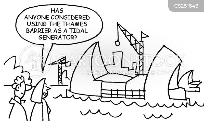 tidal energy cartoon