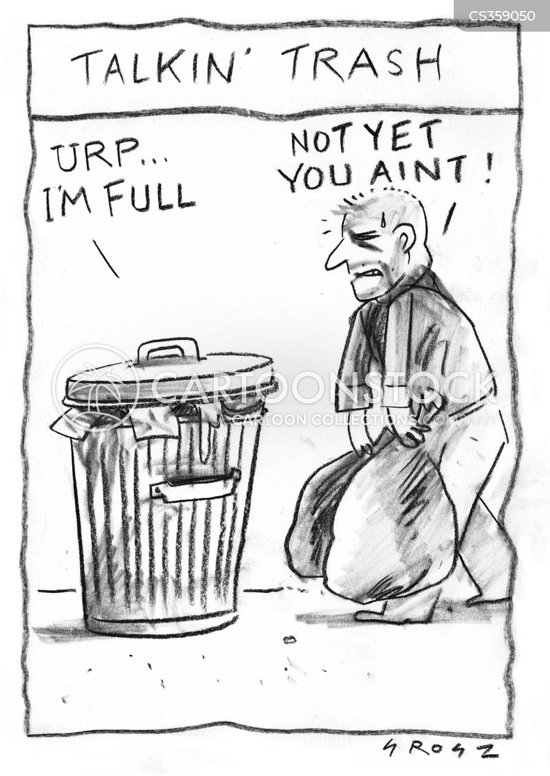 bin bags cartoon