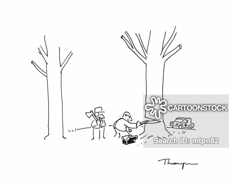 arborist cartoon