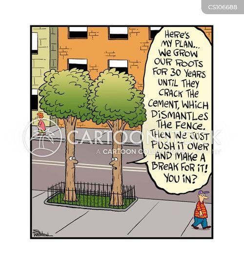 urban landscapes cartoon
