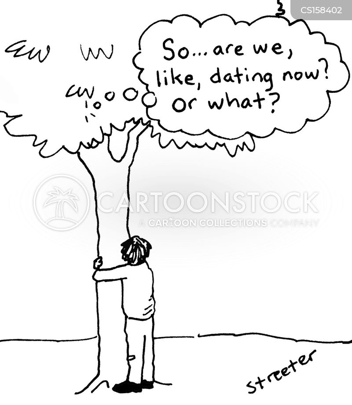 tree hugging cartoon