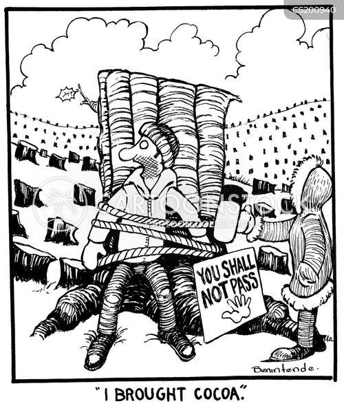 demonstrations cartoon
