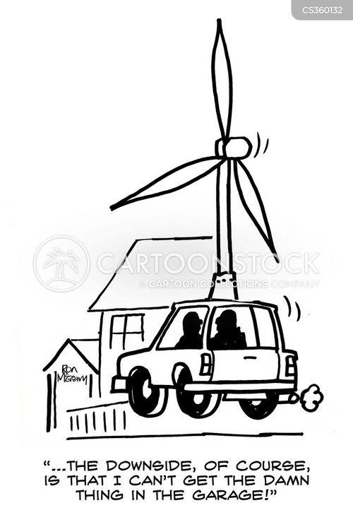 power generation cartoon