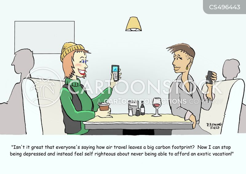 overseas travel cartoon