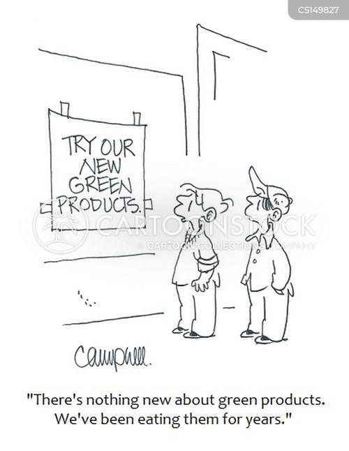 environmental conscience cartoon