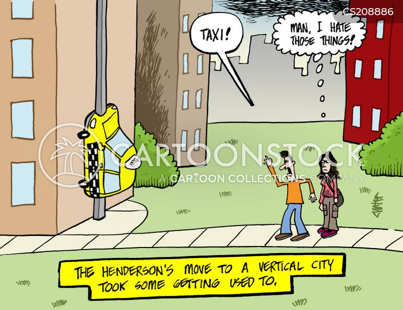 urban development cartoon