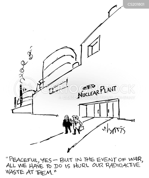 nuclear plant cartoon