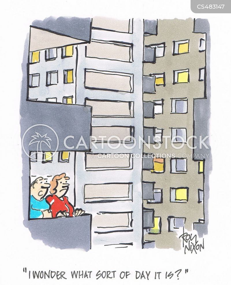 tower-block cartoon
