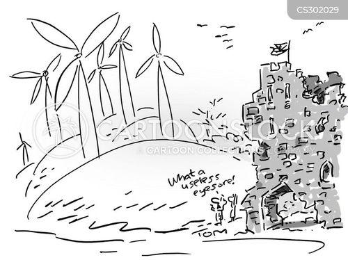 listed building cartoon