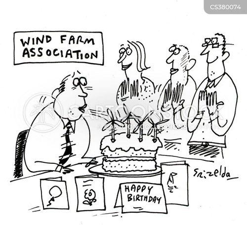 windfarms cartoon