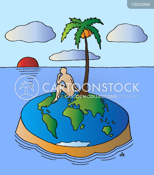 continent cartoon